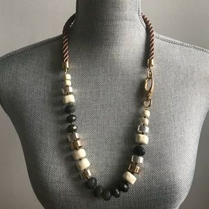 Stella & Dot Chunky Labradorite Necklace